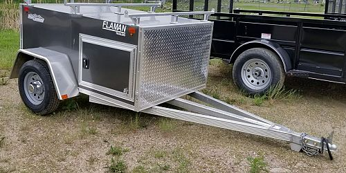 Xpress 4'x6' Cargo - Aluminum, Car Towable - Clearance!